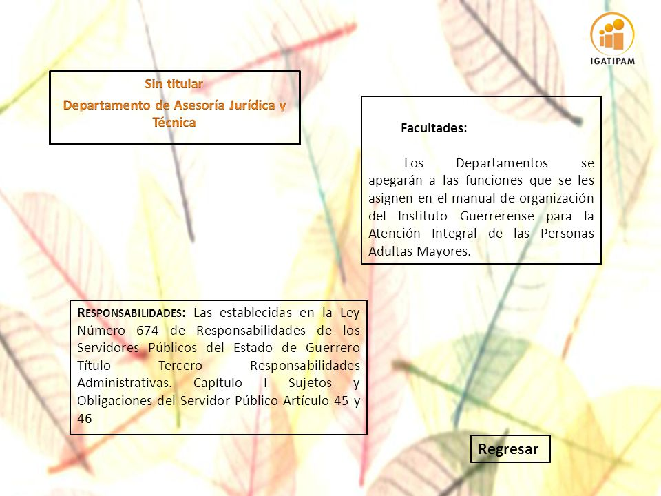 Departamento de Asesoría Jurídica y Técnica
