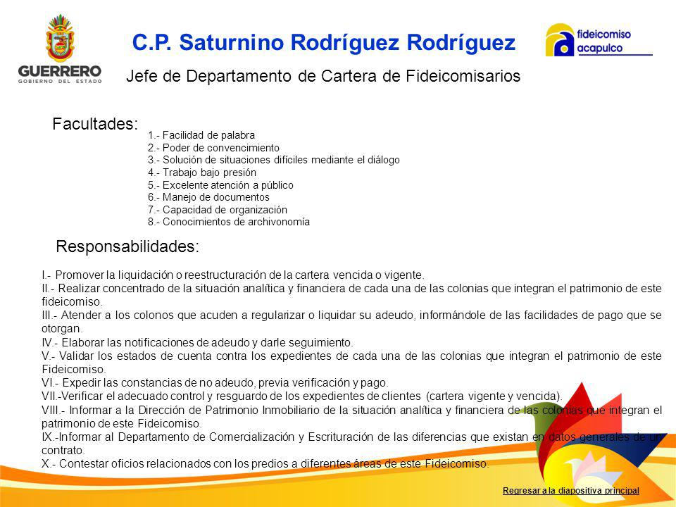 C.P. Saturnino Rodríguez Rodríguez