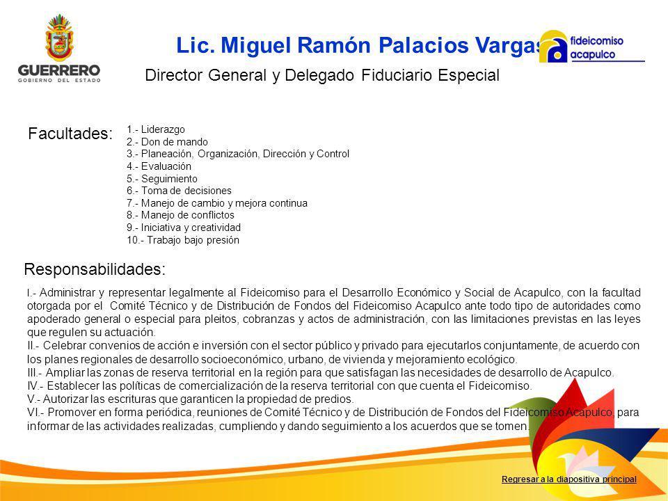 Lic. Miguel Ramón Palacios Vargas