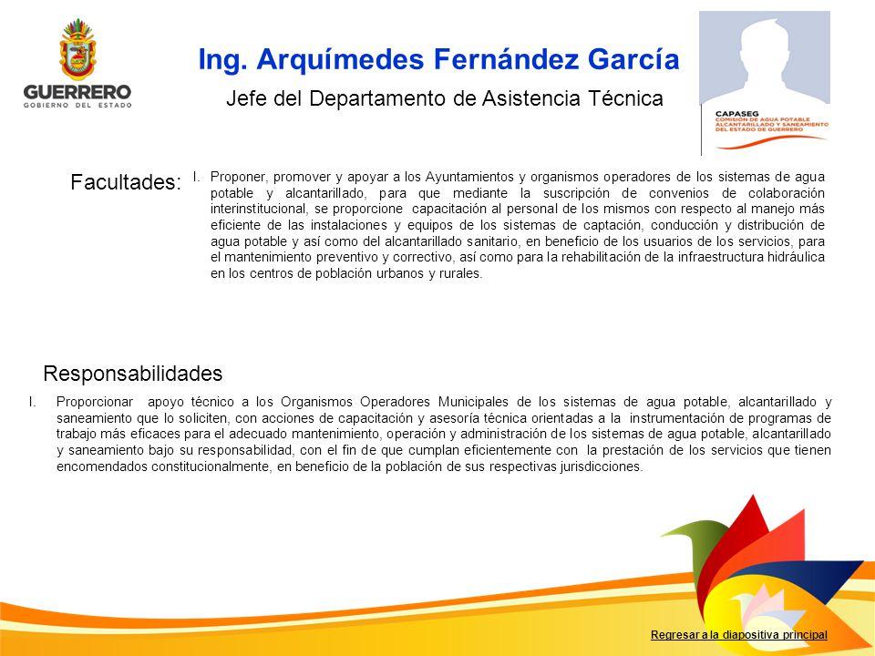 Ing. Arquímedes Fernández García