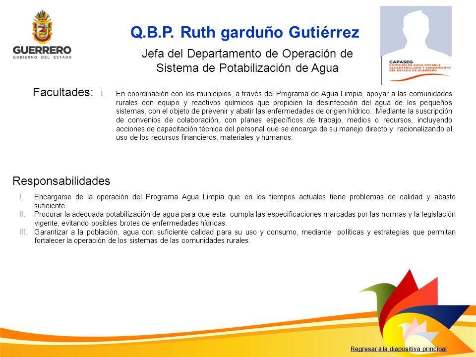 Q.B.P. Ruth garduño Gutiérrez