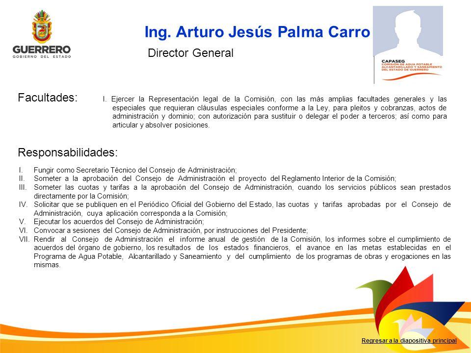 Ing. Arturo Jesús Palma Carro