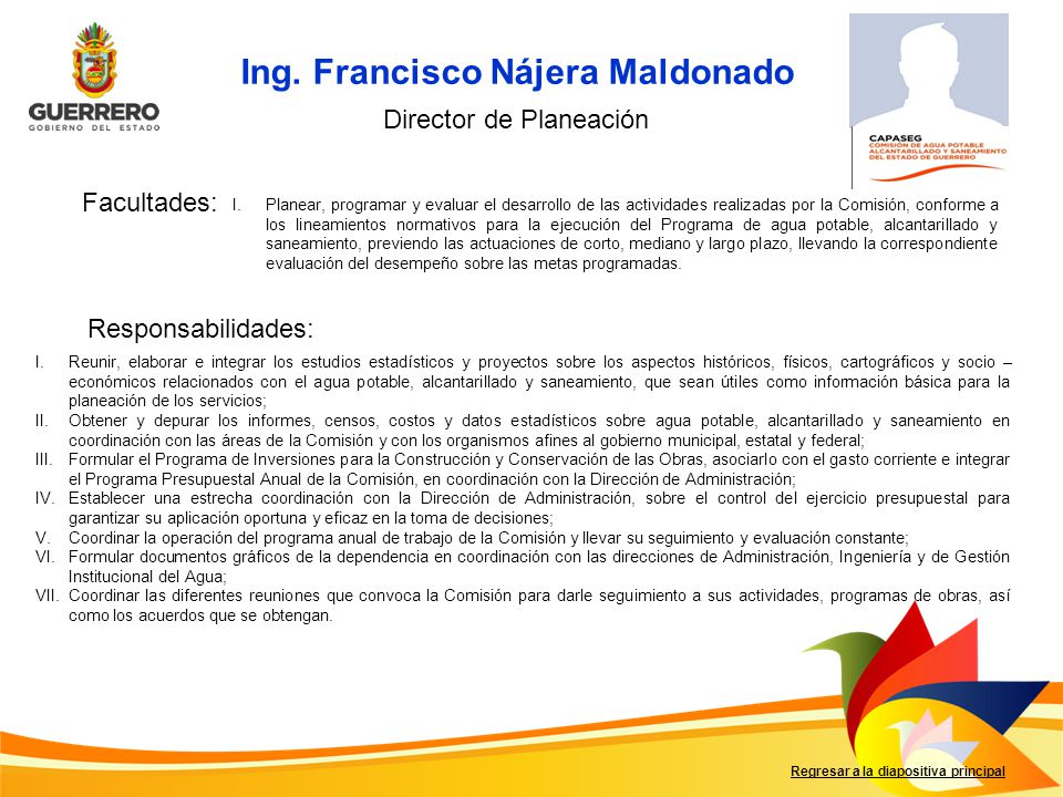 Ing. Francisco Nájera Maldonado