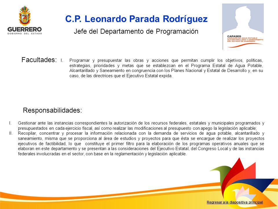 C.P. Leonardo Parada Rodríguez