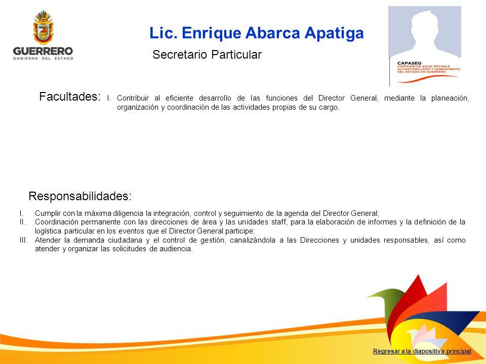 Lic. Enrique Abarca Apatiga