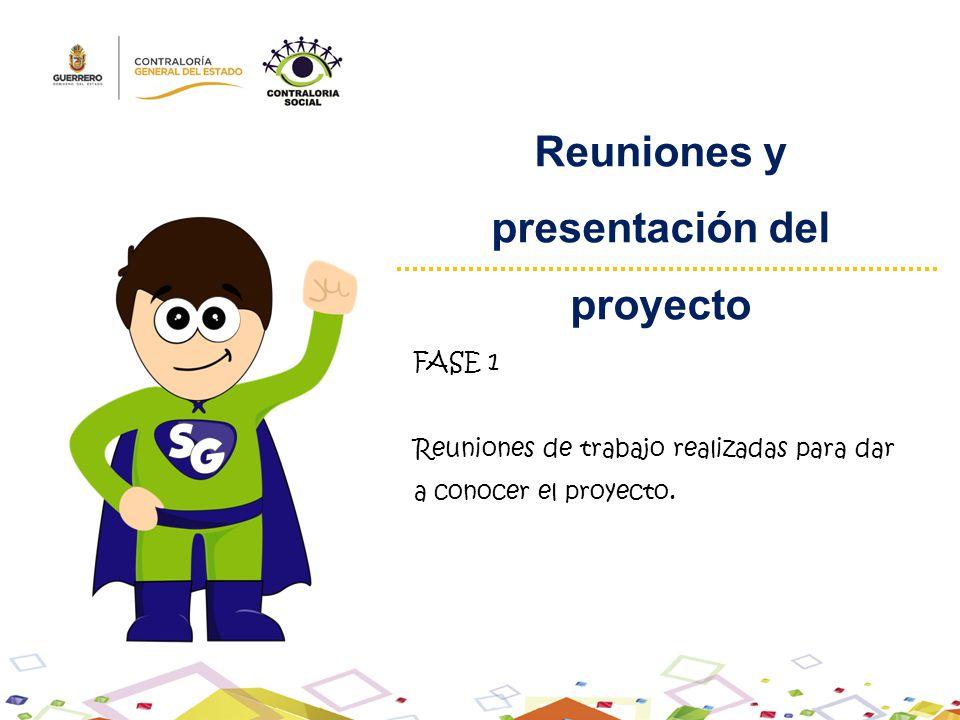 Reuniones y presentación del proyecto