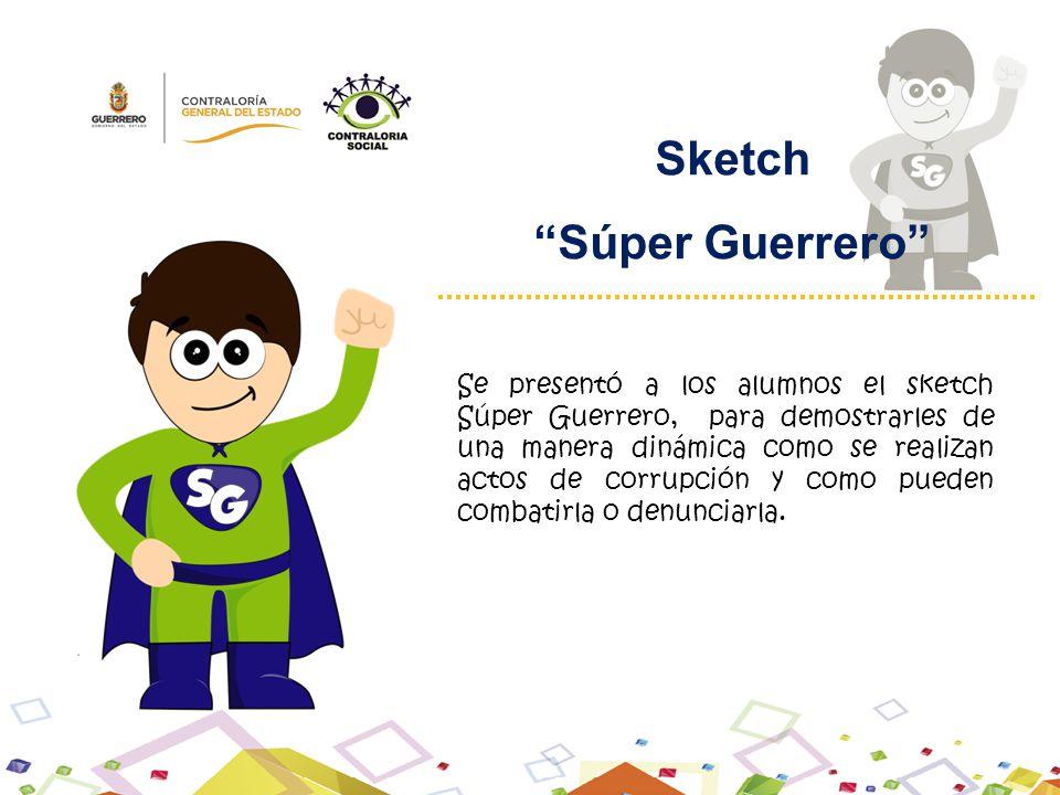 Sketch Súper Guerrero