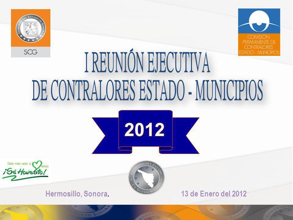 2012 Hermosillo, Sonora. 13 de Enero del 2012