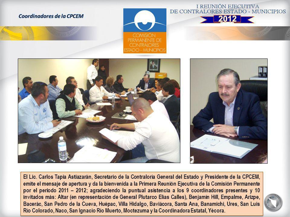 Coordinadores de la CPCEM