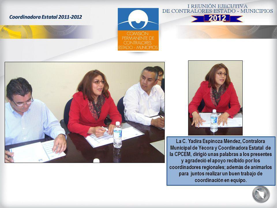 Coordinadora Estatal 2011-2012