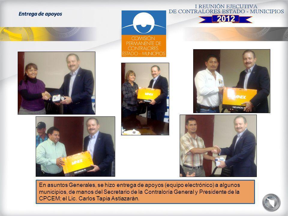 2012 Entrega de apoyos.