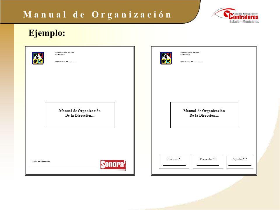 Manual de Organización Manual de Organización