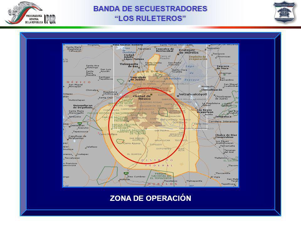 ZONA DE OPERACIÓN