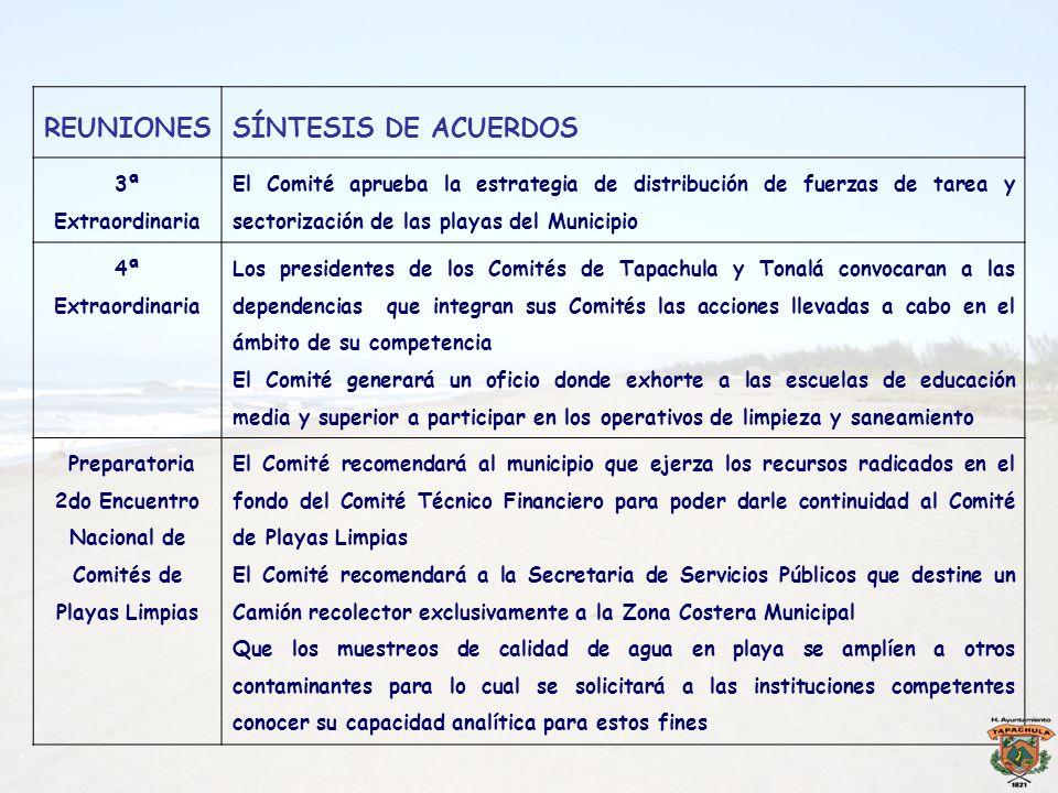 2do Encuentro Nacional de Comités de Playas Limpias