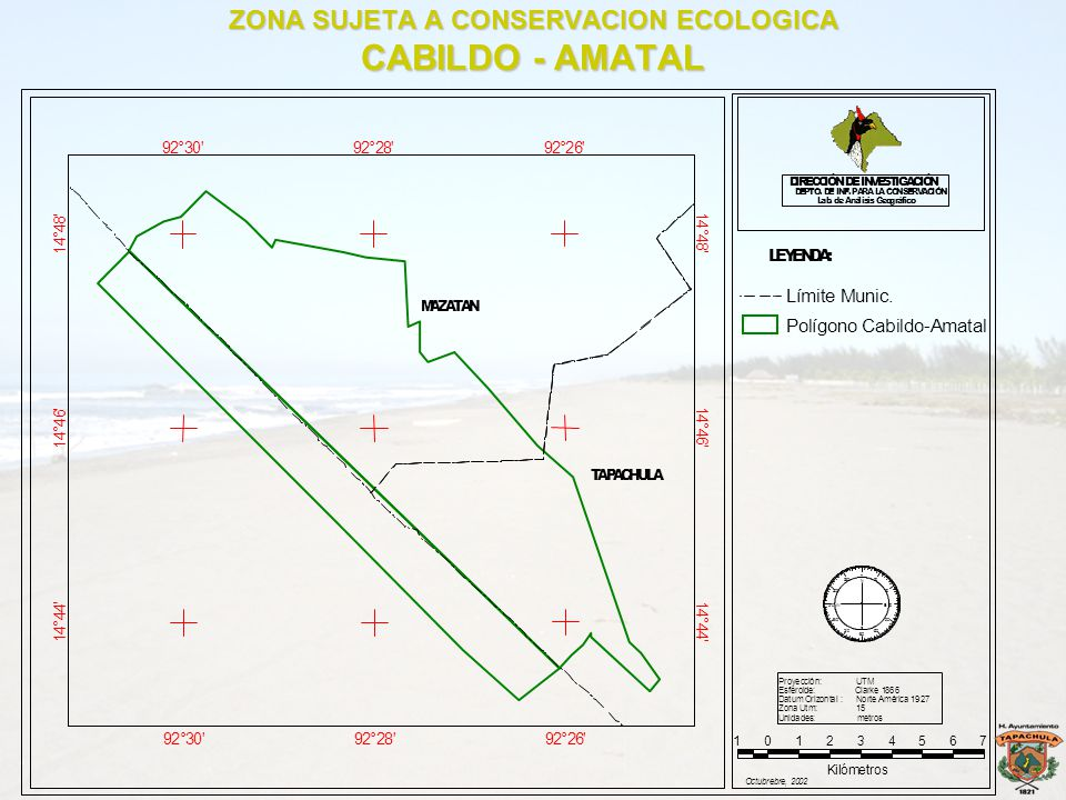 ZONA SUJETA A CONSERVACION ECOLOGICA CABILDO - AMATAL