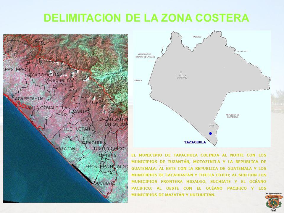 DELIMITACION DE LA ZONA COSTERA