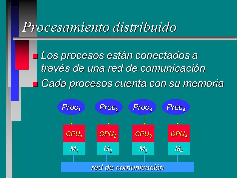 Procesamiento distribuido