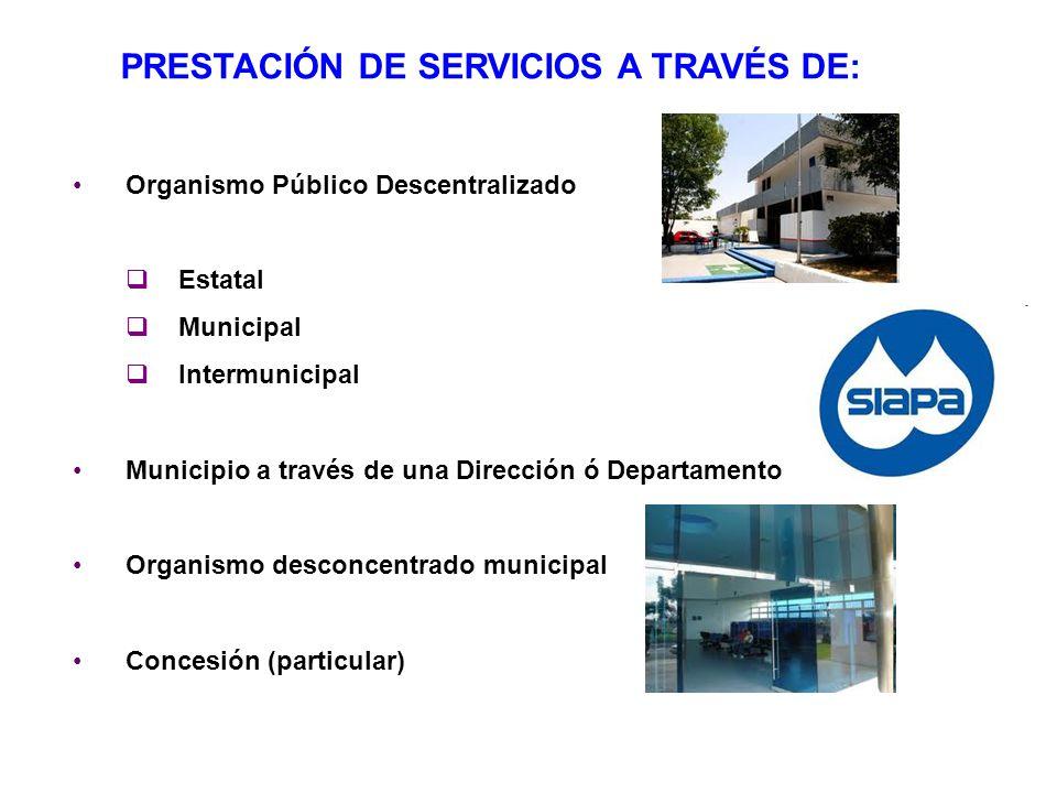 PRESTACIÓN DE SERVICIOS A TRAVÉS DE:
