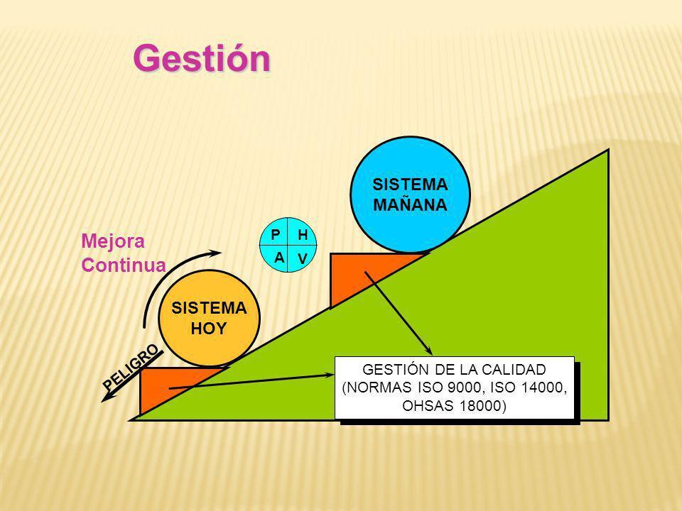 GESTIÓN DE LA CALIDAD (NORMAS ISO 9000, ISO 14000, OHSAS 18000)