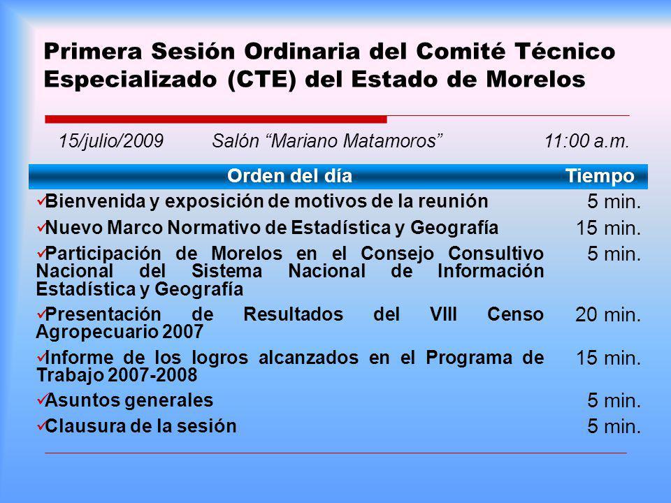 15/julio/2009 Salón Mariano Matamoros 11:00 a.m.