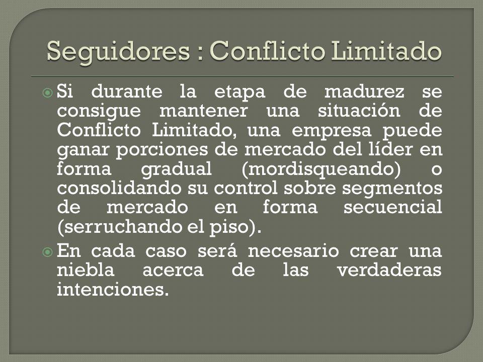 Seguidores : Conflicto Limitado
