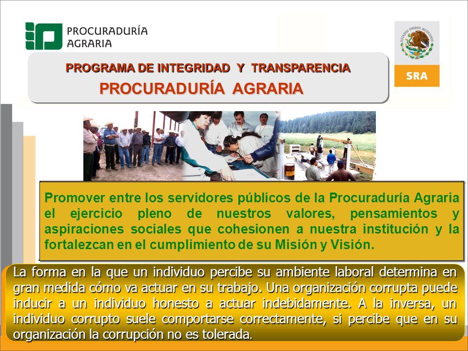 PROGRAMA DE INTEGRIDAD Y TRANSPARENCIA