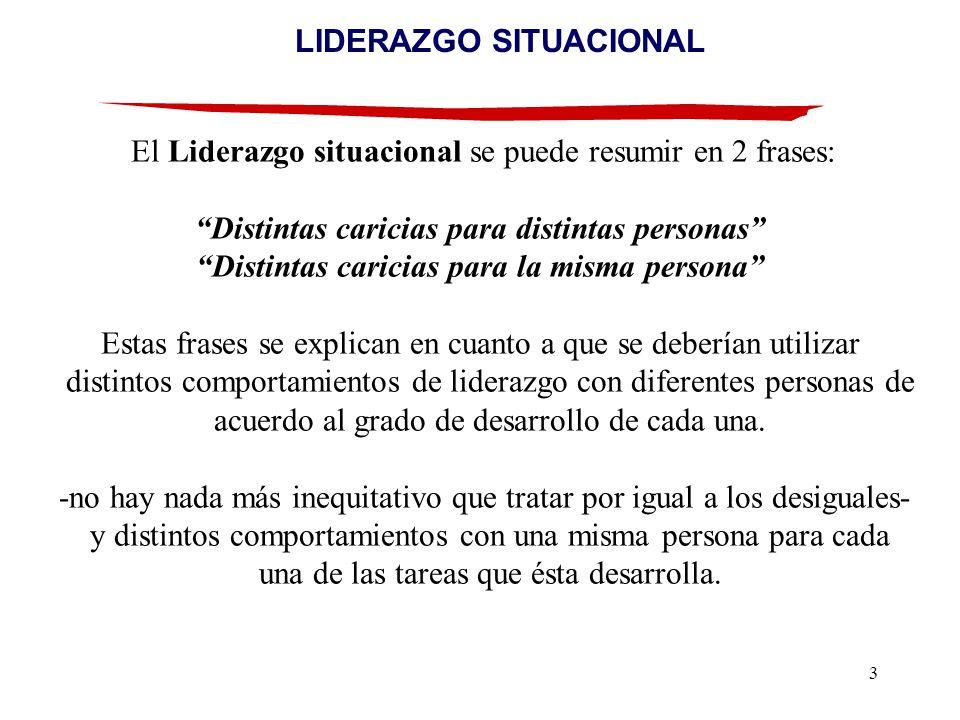 LIDERAZGO SITUACIONAL