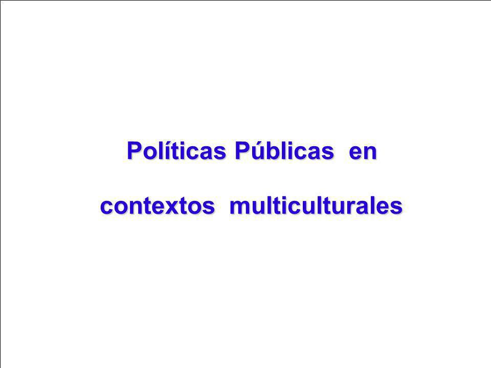 contextos multiculturales