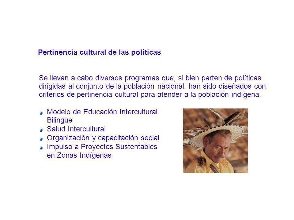 Pertinencia cultural de las políticas