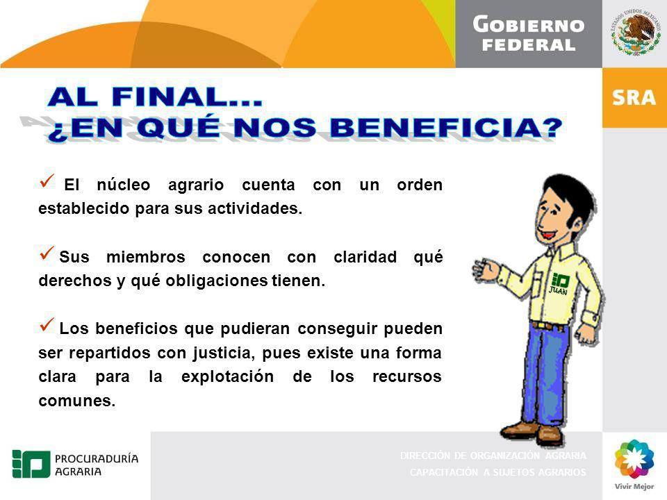 JUAN AL FINAL... ¿EN QUÉ NOS BENEFICIA