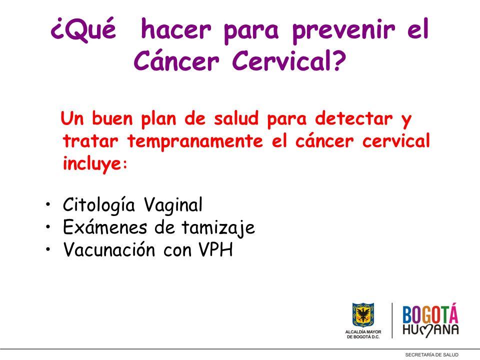 ¿Qué hacer para prevenir el Cáncer Cervical