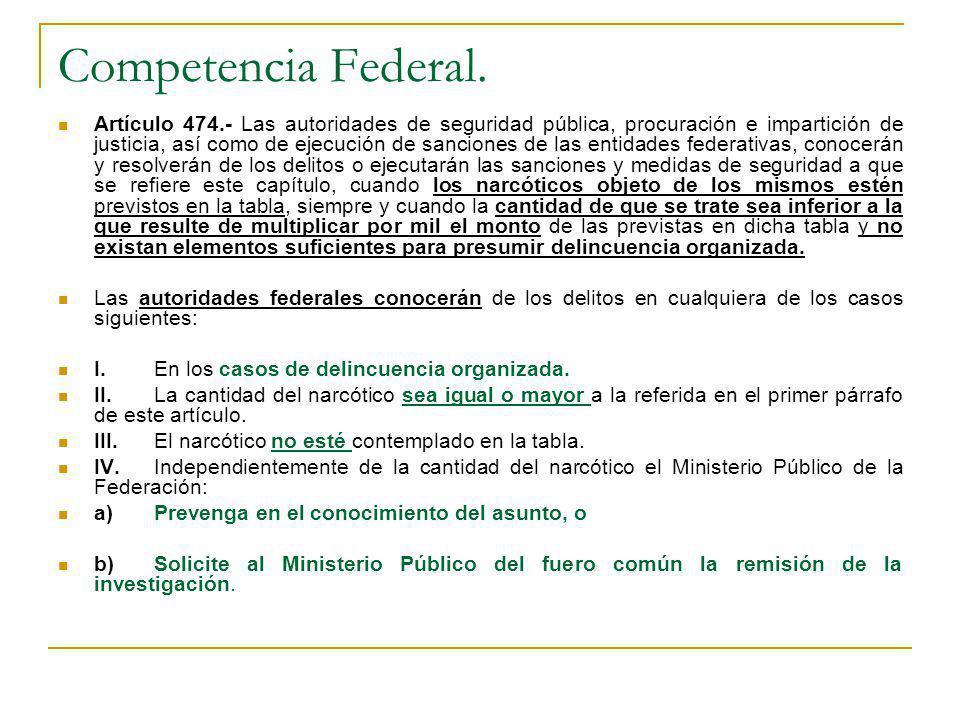 Competencia Federal.