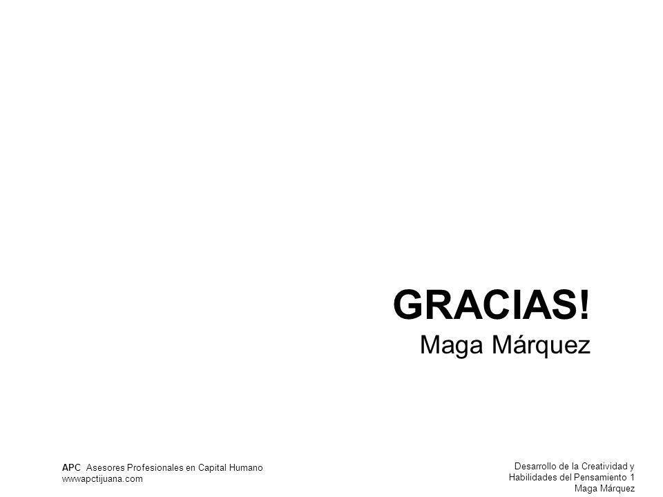 GRACIAS! Maga Márquez