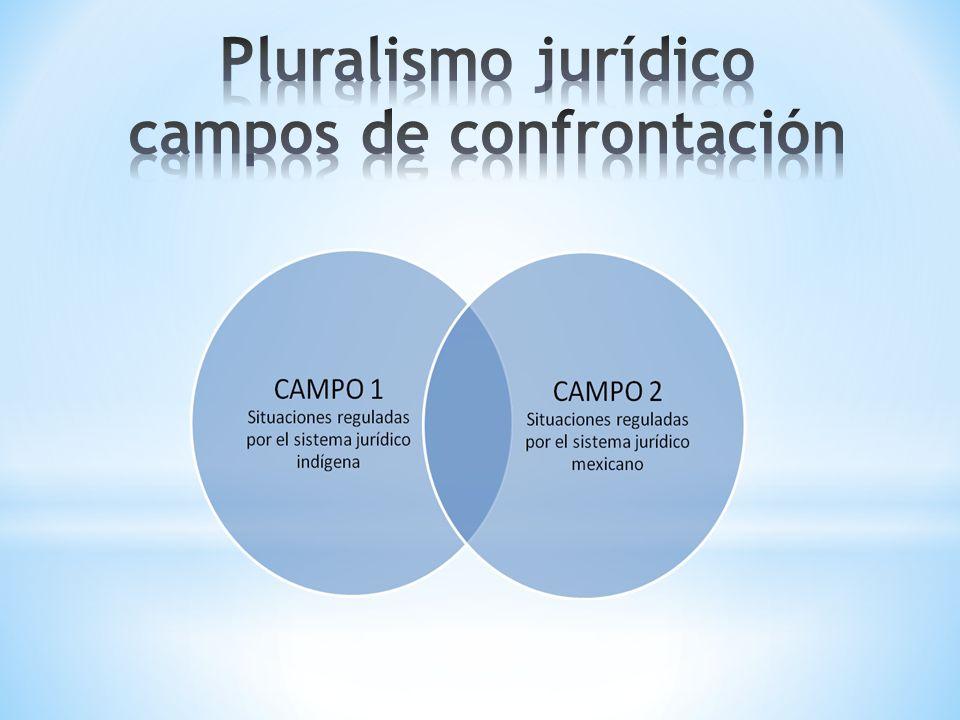 Pluralismo jurídico campos de confrontación