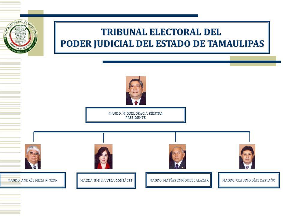 TRIBUNAL ELECTORAL DEL PODER JUDICIAL DEL ESTADO DE TAMAULIPAS