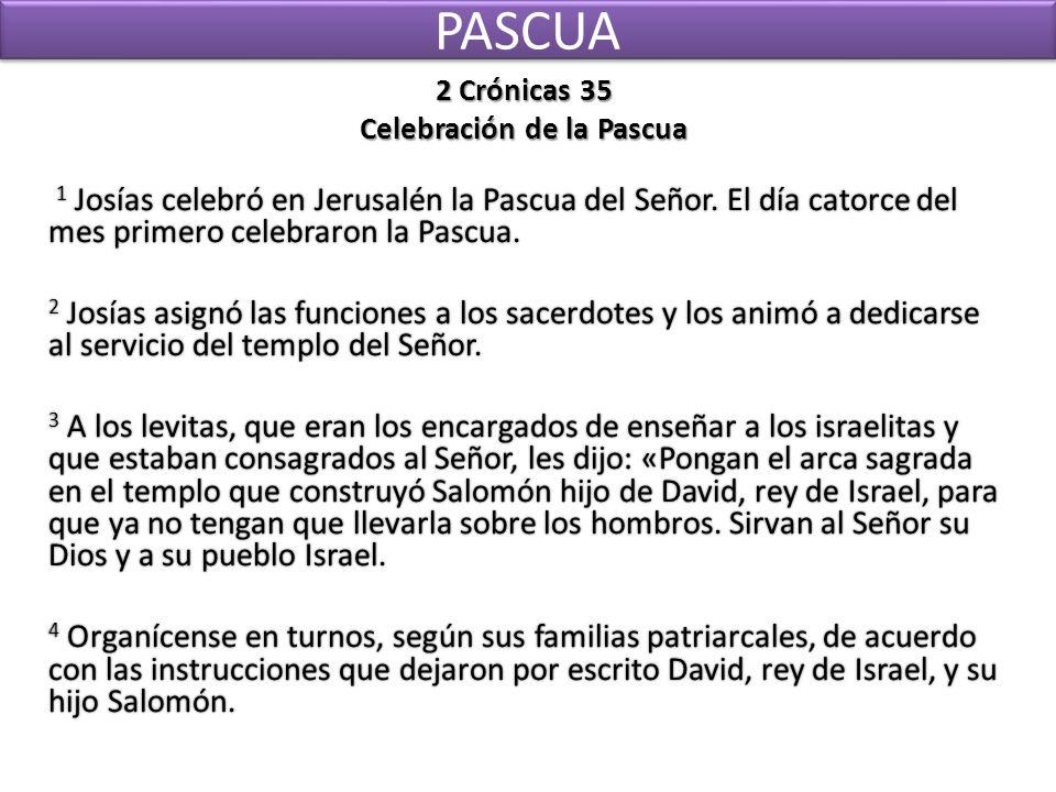 Celebración de la Pascua
