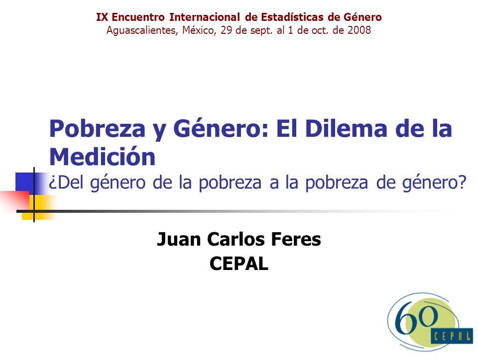 Juan Carlos Feres CEPAL