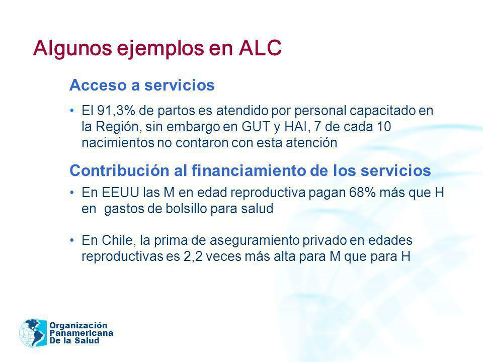 Algunos ejemplos en ALC