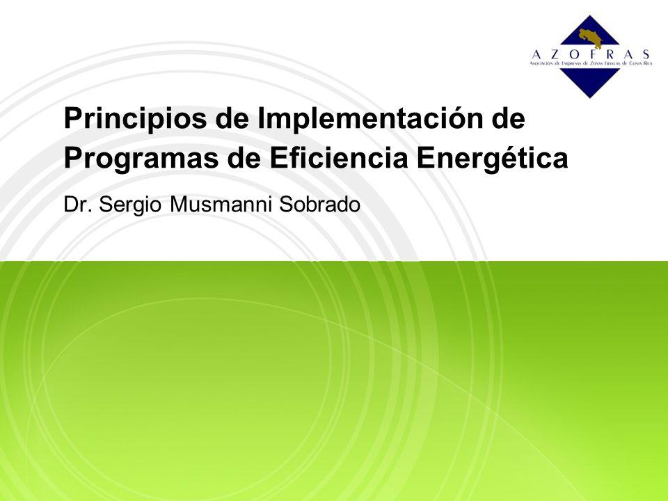 Principios de Implementación de Programas de Eficiencia Energética
