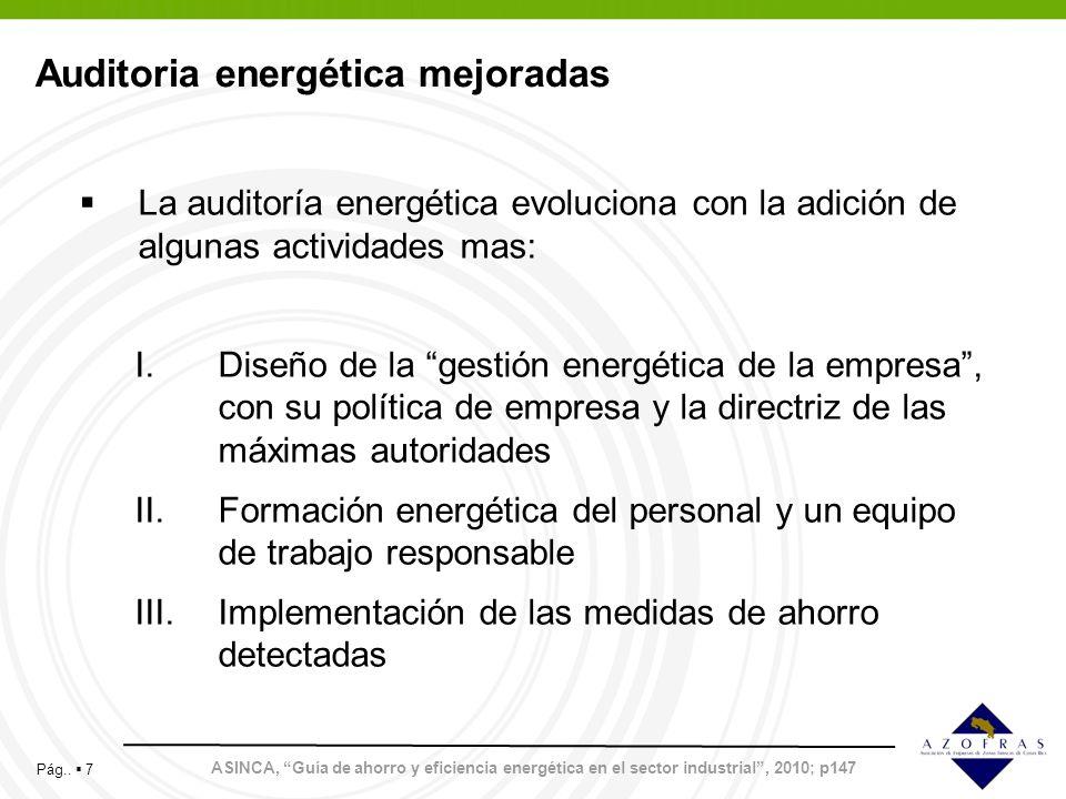 Auditoria energética mejoradas