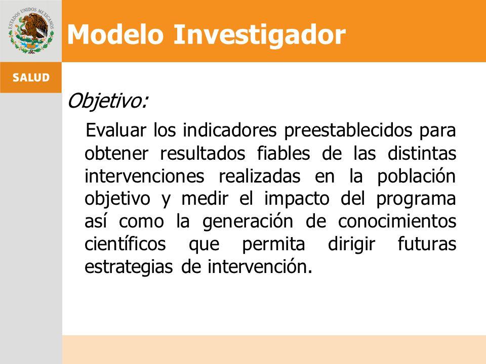 Modelo Investigador
