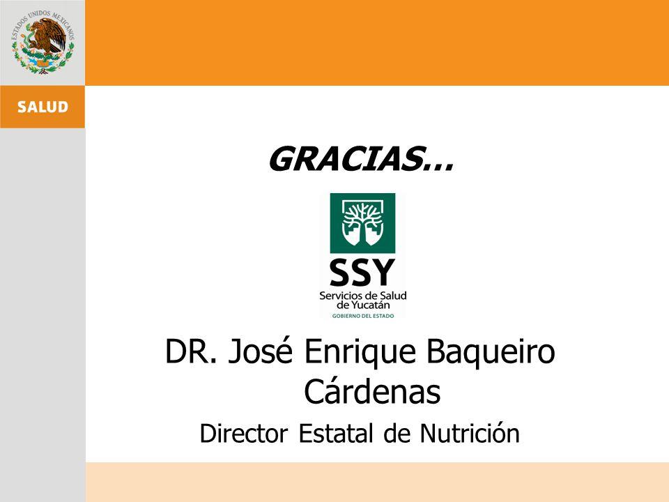 DR. José Enrique Baqueiro Cárdenas
