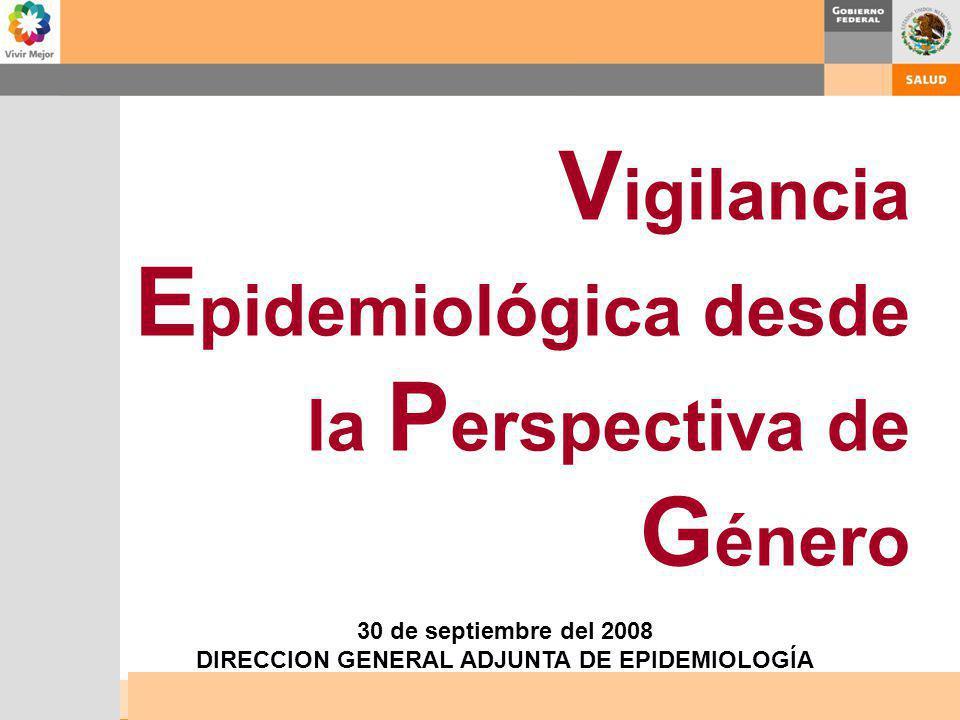 DIRECCION GENERAL ADJUNTA DE EPIDEMIOLOGÍA