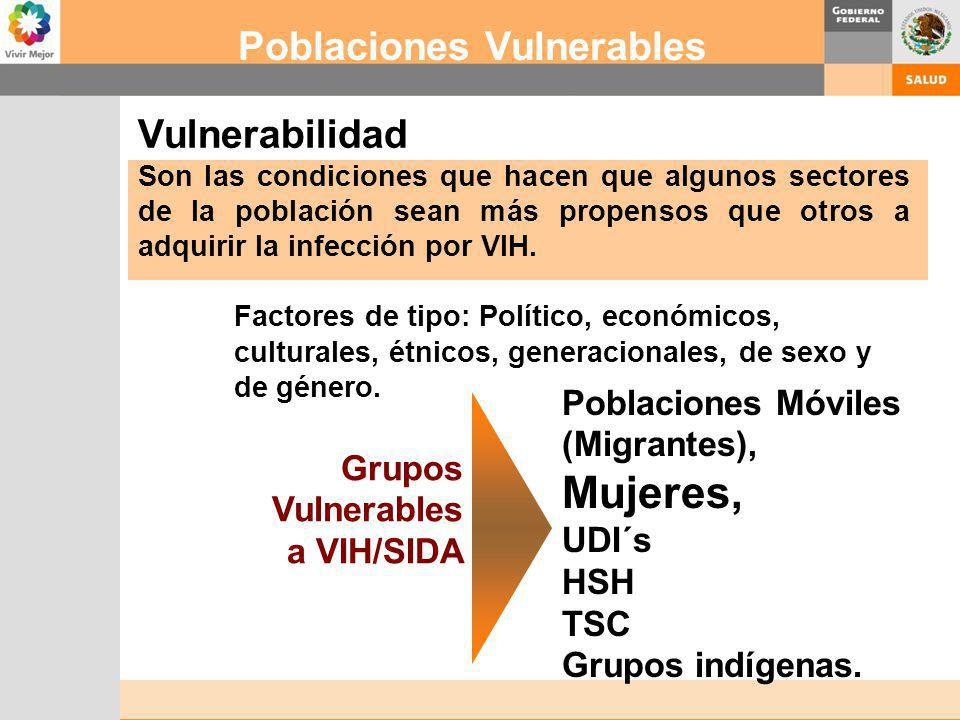 Poblaciones Vulnerables