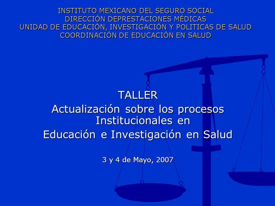 Actualización sobre los procesos Institucionales en