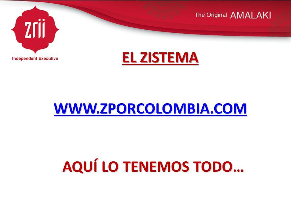 EL ZISTEMA WWW.ZPORCOLOMBIA.COM AQUÍ LO TENEMOS TODO…