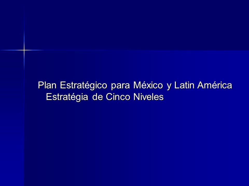 Plan Estratégico para México y Latin América