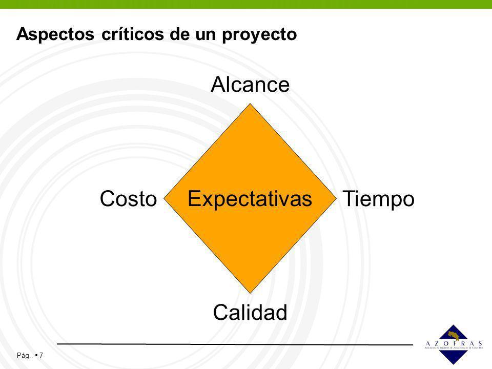 Aspectos críticos de un proyecto