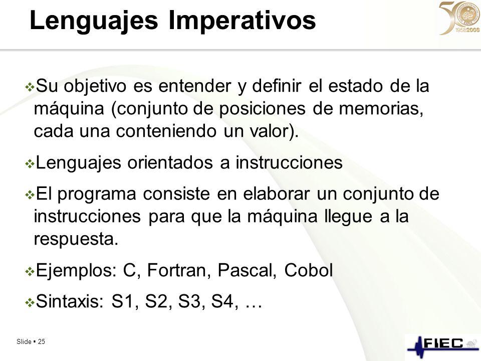 Lenguajes Imperativos