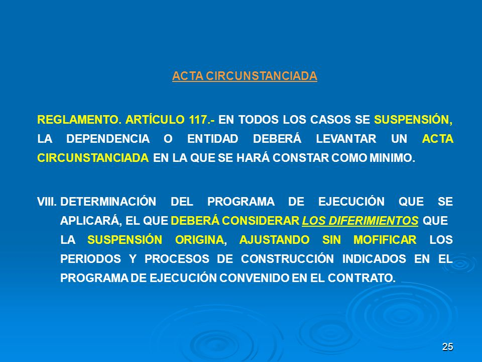 ACTA CIRCUNSTANCIADA